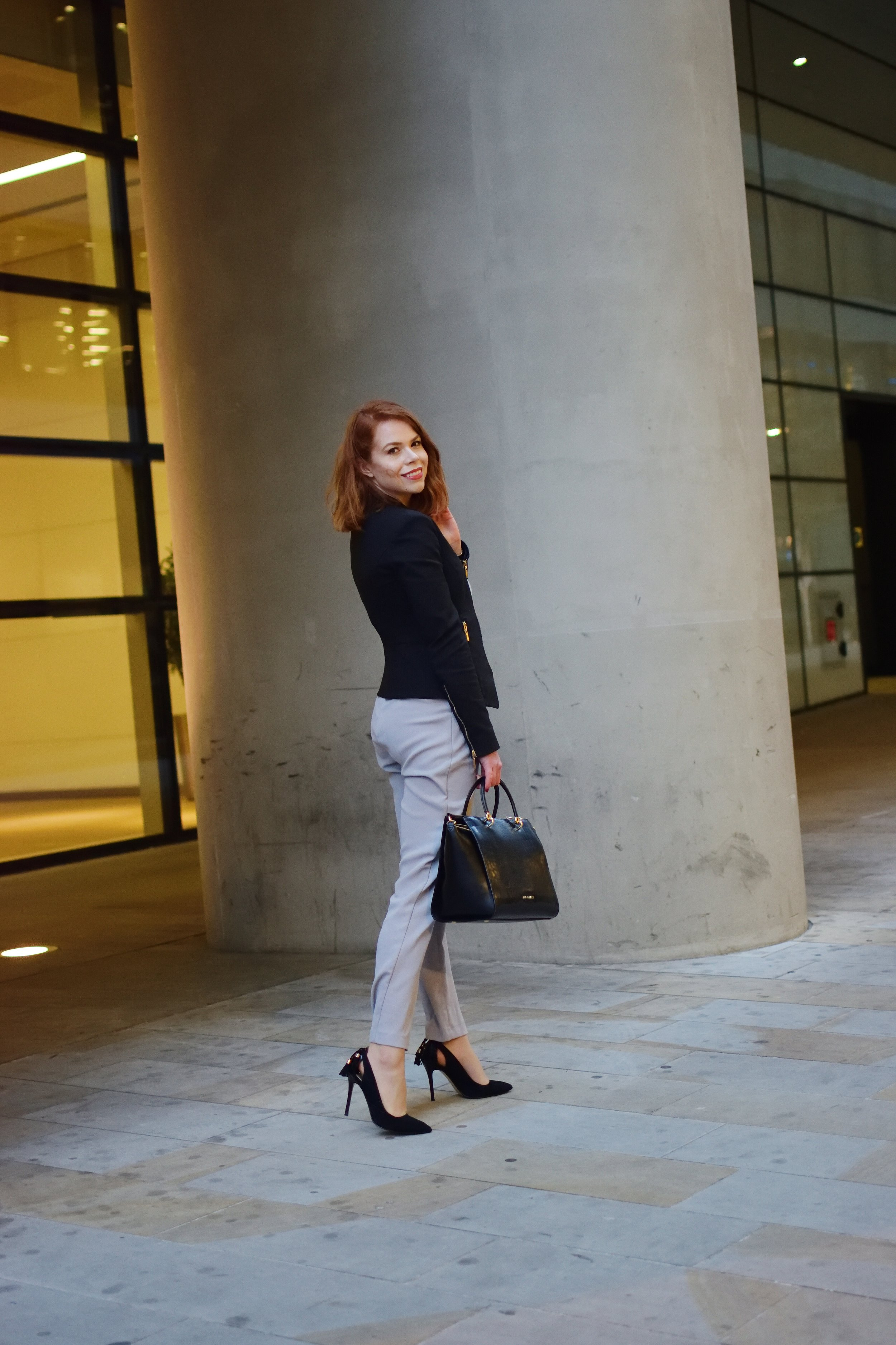 Briar Prestidge - office fashion jumpsuit