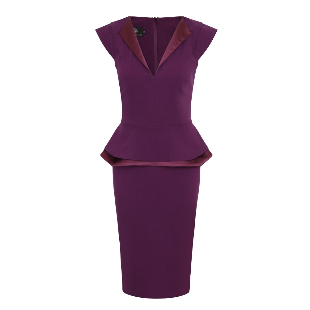 plum-dress-office-fashion-blog