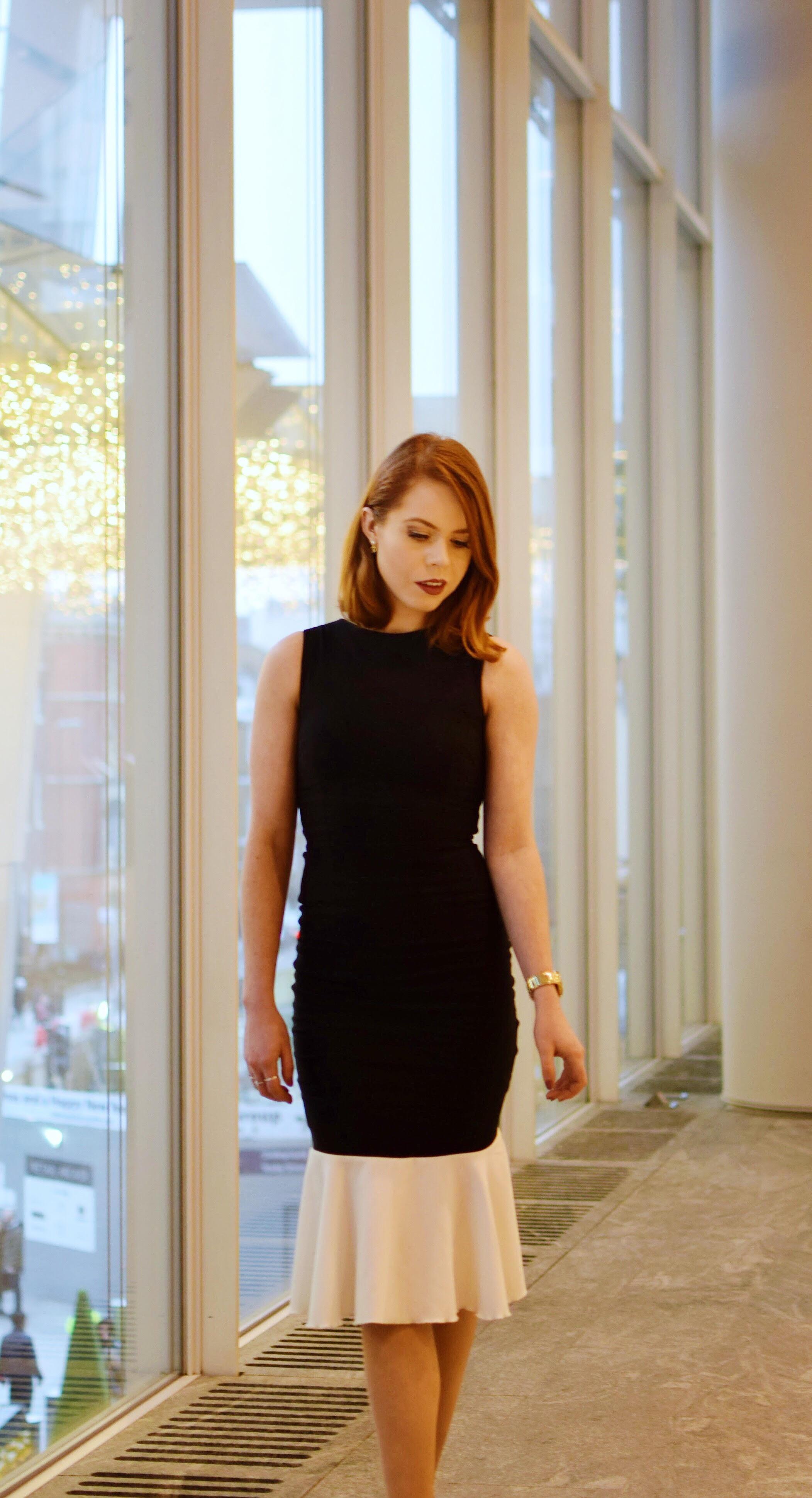 office fashion peplum dresses