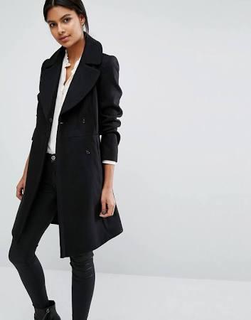 Black coat - Oasis - ASOS - office style