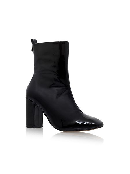 office style - black boots - KG boots