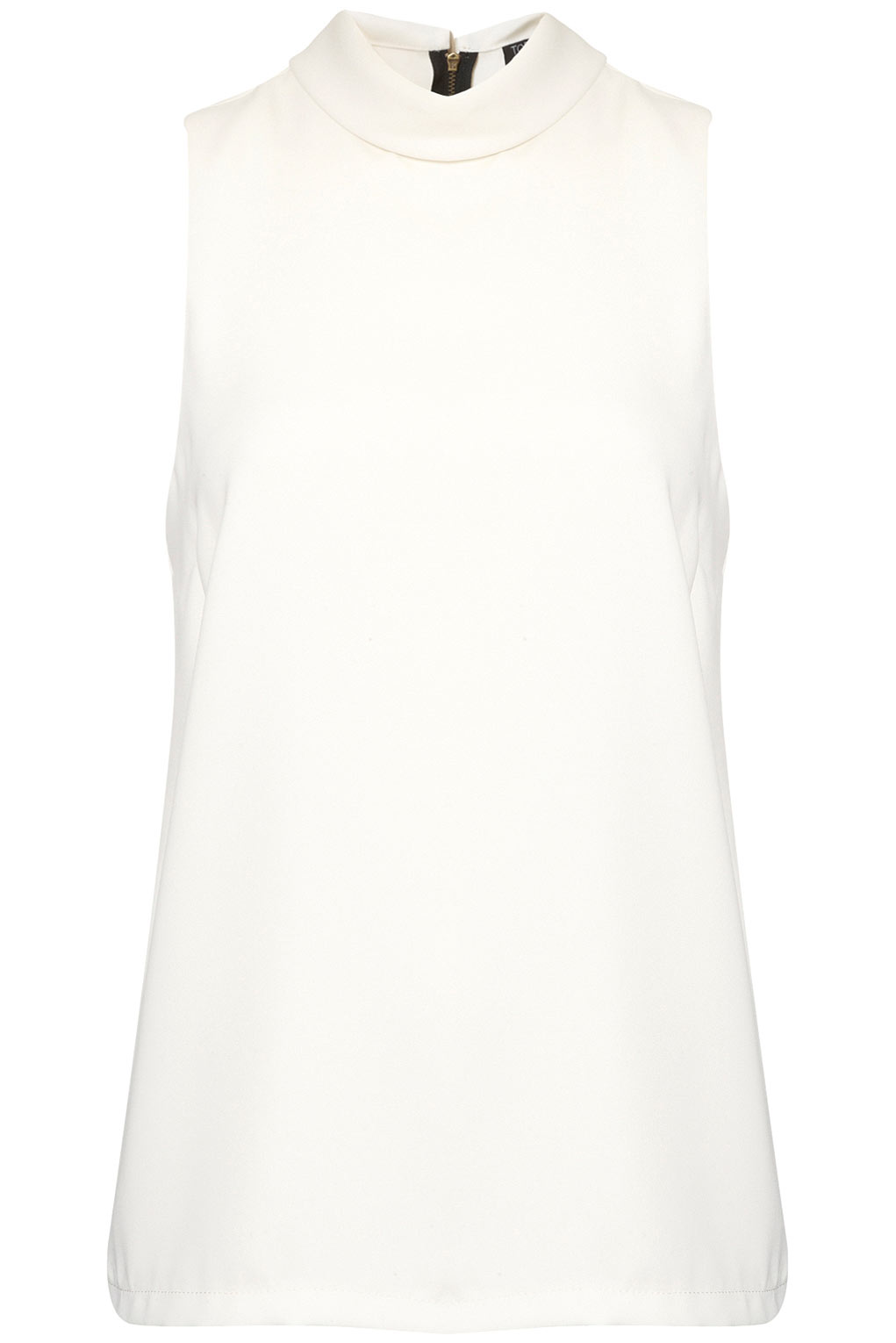 top shop sleeveless roll neck shell - office fashion - how to build rapport