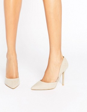 asos True Decadence Nude Heeled Court Shoe - office fashion - how to build rapport