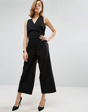ASOS Tailored Wrap Jumpsuit- office fashion