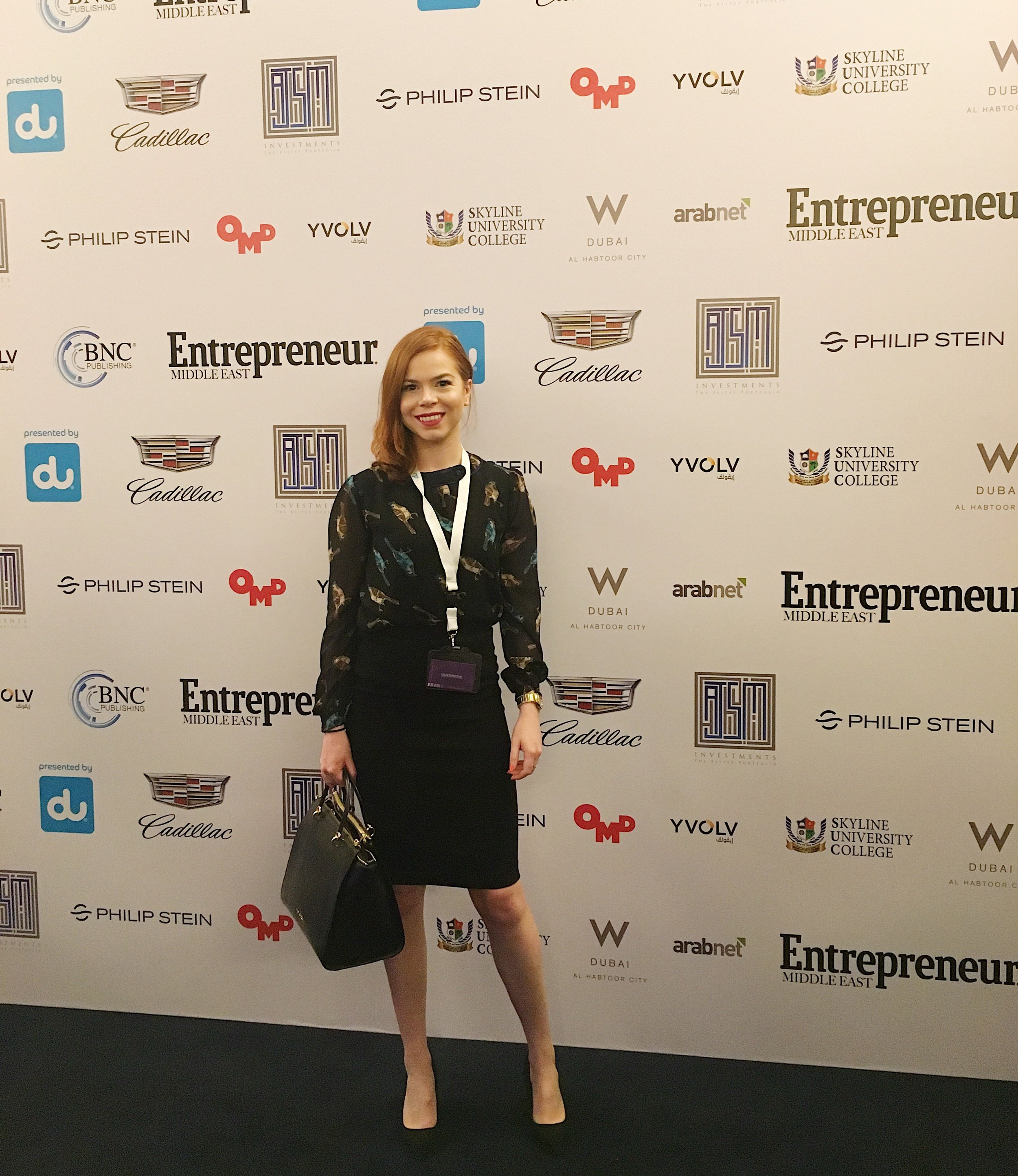 Briar Prestidge Entrepreneur Middle East's Achieving Women's Forum  2017