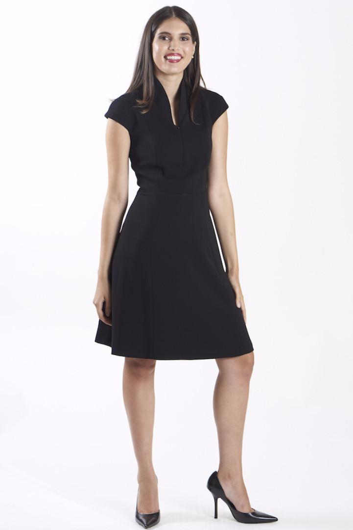 nora gardner interview - office fashion - the evelyn dress - briar prestidge - deals in high heels