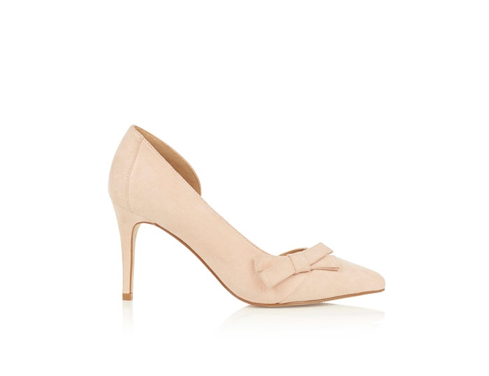 Rylee Bow Court Shoe- coast