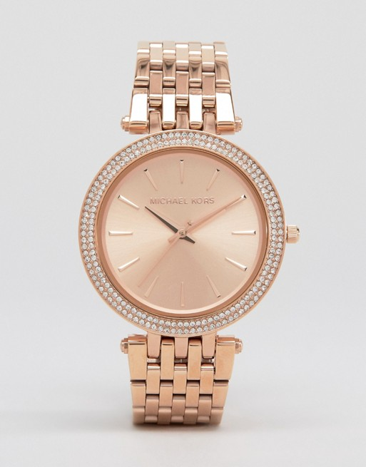 Michael Kors Darci Rose Gold Watch MK3192