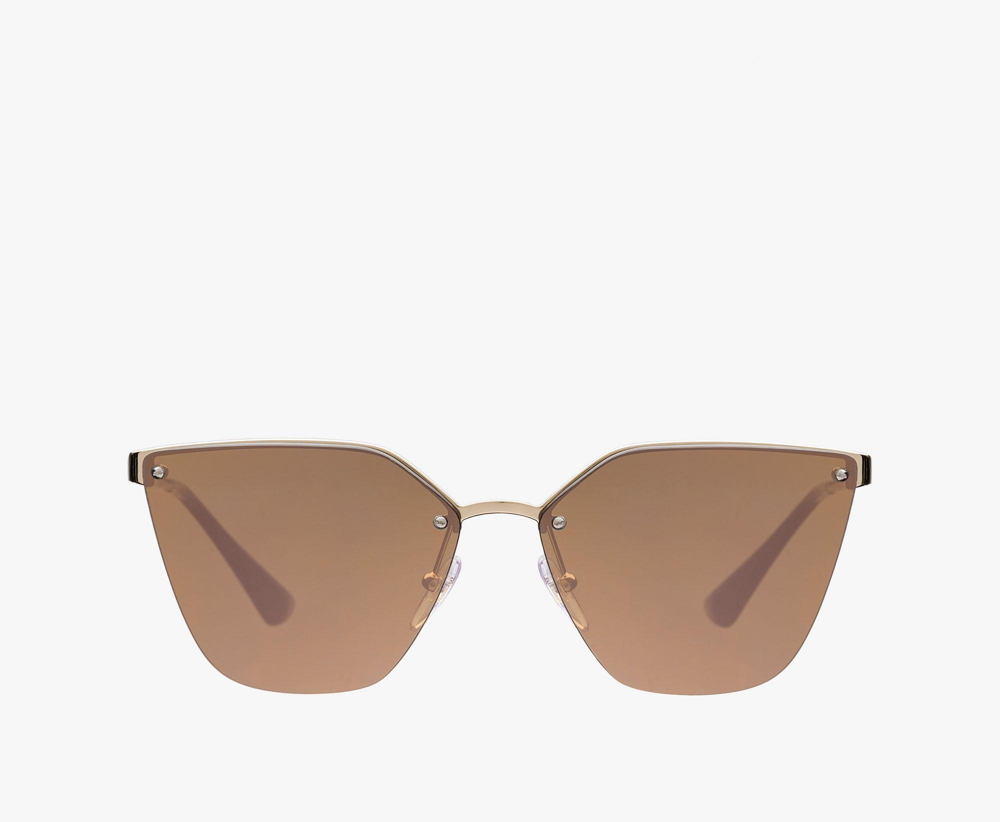 prada cinema sunglasses mirrored brown