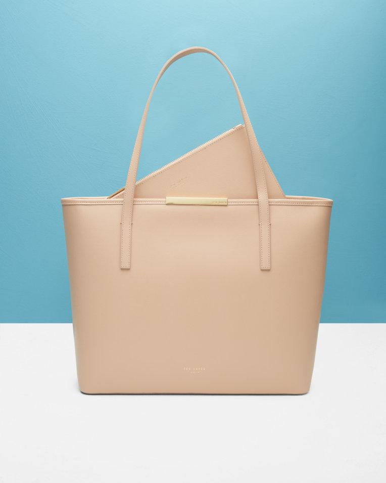 ted baker  KACI  Leather large shopper bag