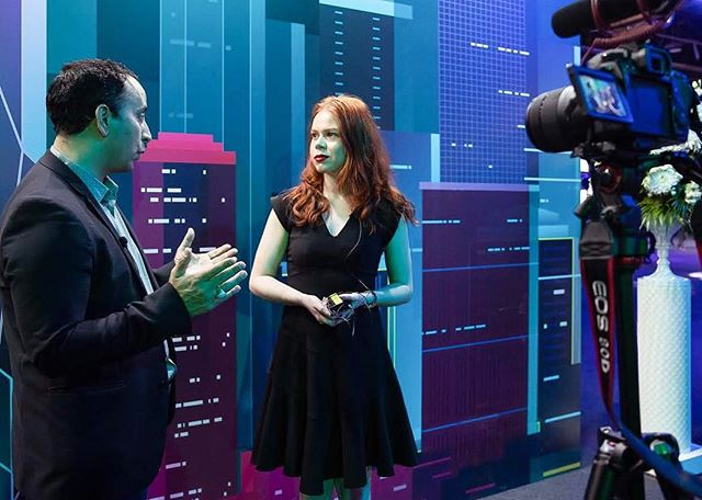 Interviewing futurist and author, @iankhanfuturist for my podcast/video series. We discussed his latest documentary on blockchain and what professionals should execute TOMORROW in preparation for an AI driven workforce and Industry 4.0. #briarprestidge #dealsinhighheels 💗