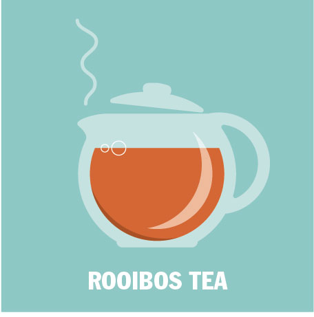 10 Amazing Health Benefits of Rooibos  - Rooibos is a bush from South Africa, so technically not tea. Only the leaves from Camellia Sinensis are considered true tea.
