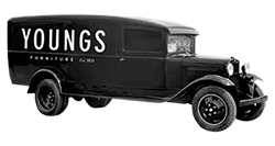 Youngs vintage truck