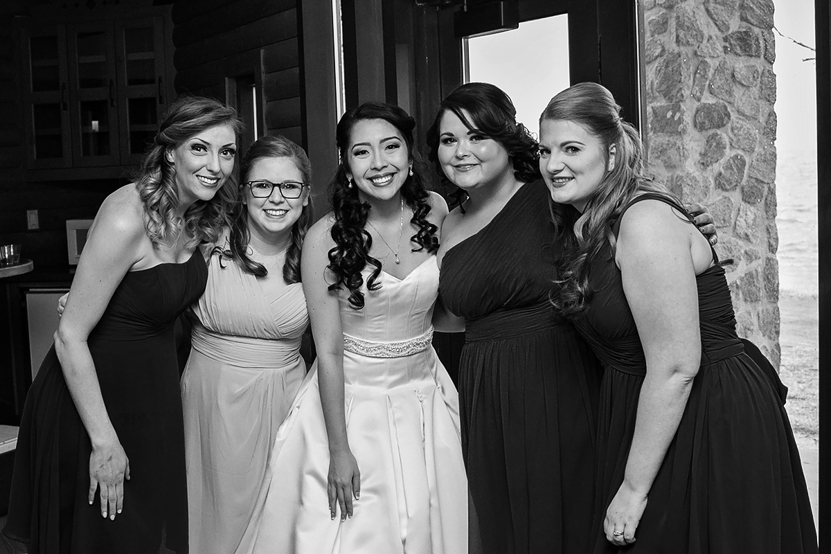 JSP Mountain Lodge Bride and her Bridesmaids.jpg