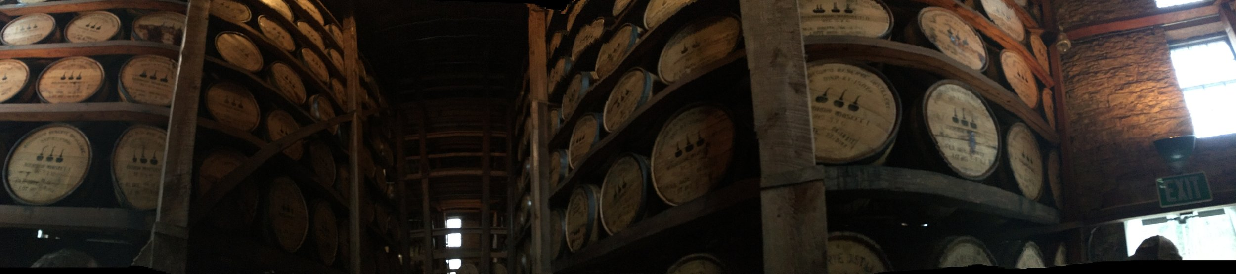 woodford reserve barrel room