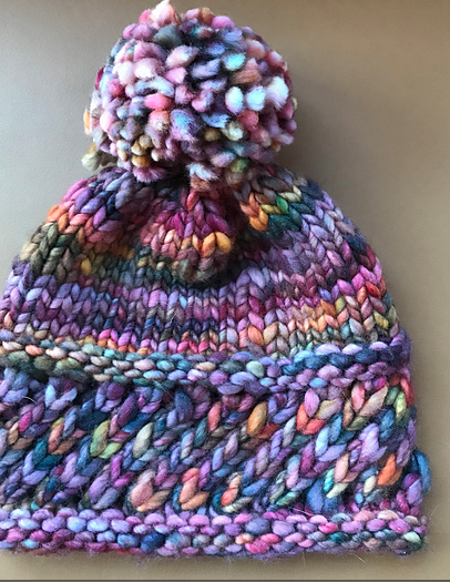 handspun yarn hat pattern