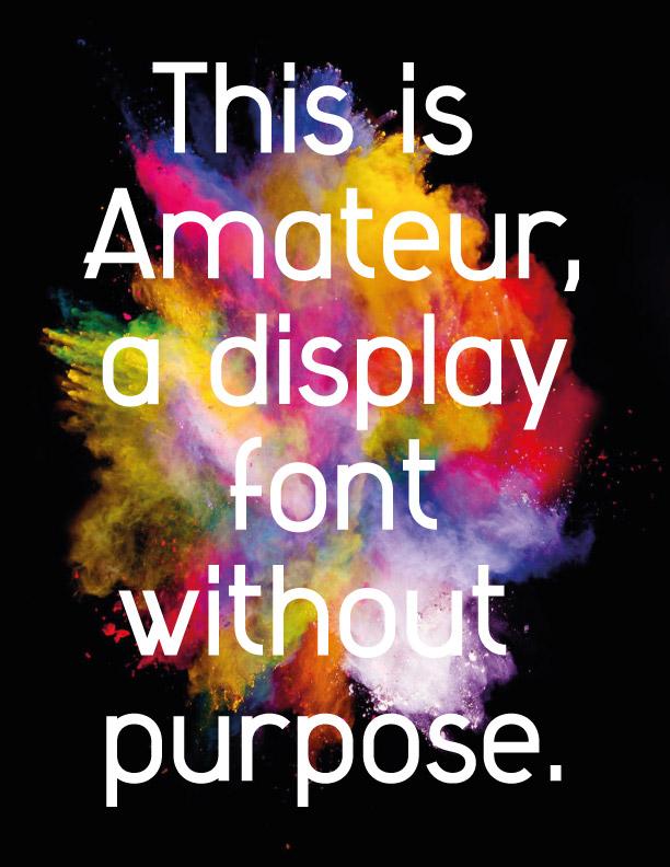 amateur font design typography