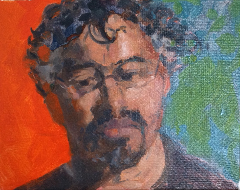"""Martin Campos, Oil on canvas, 8""""x10"""", SOLD"""