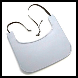 ABS Tray with Strap Grey Black