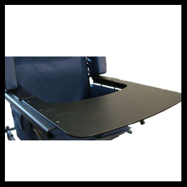 Custom Tray for wider chairs
