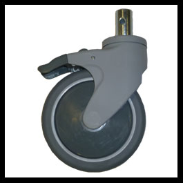 Caster 5 Directional Lock