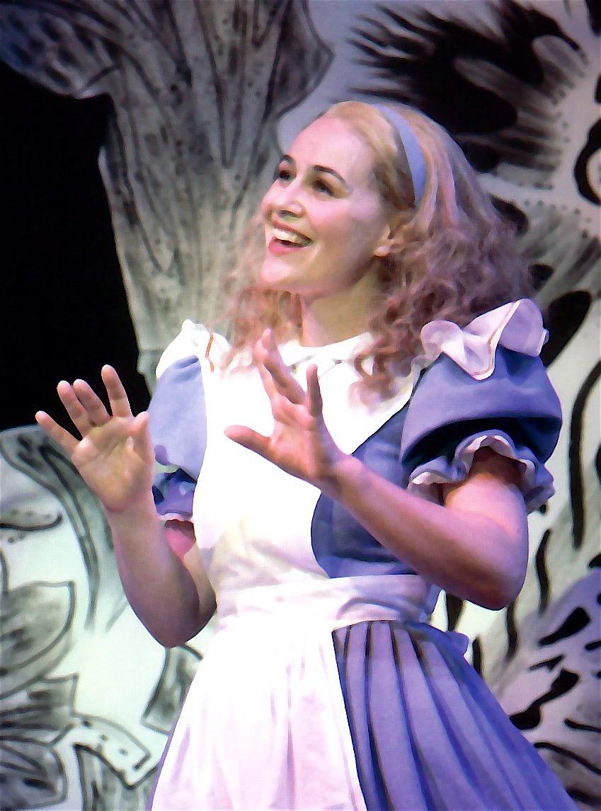 Image result for West yorkshire playhouse Alice in Wonderland