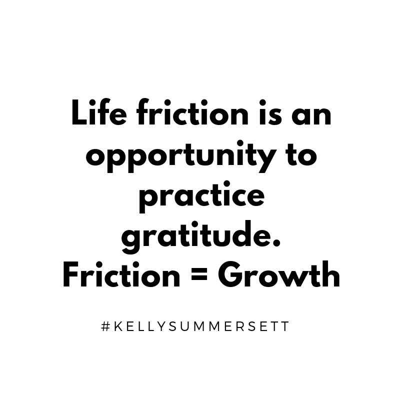 Friction is useful