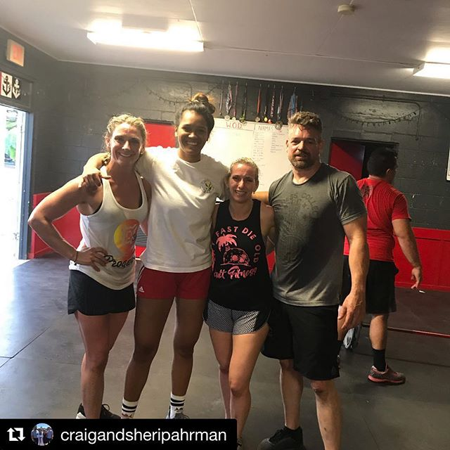 #Repost @craigandsheripahrman with @get_repost ・・・ This is our version of sight seeing. Introduced @crossfit_koolau to @cultfitnesscollective!