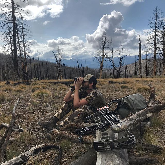 Let's see what we can stir up this time 🤞🏼#idaho #elkhunting #archeryelk #publiclands #backcountry @mountainswithmegan