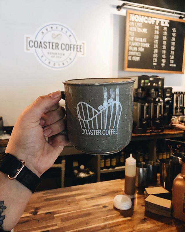 We'll see you in the morning! #coastercoffee#coffee#coffeeshop#norfolk#norfolkva#navalstationnorfolk#norfolkvirginia#va#virginia#oceanview#oceanviewbeach#vabeach#peopleofcoaster