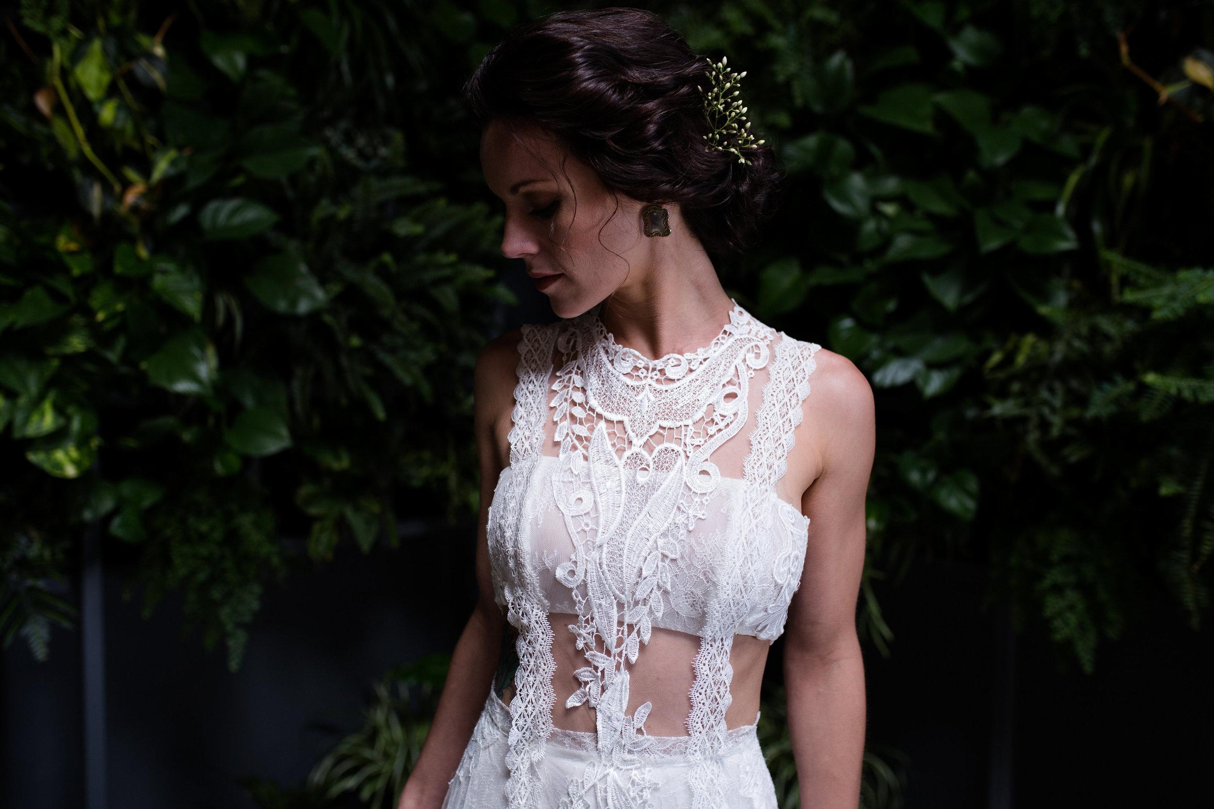Modern Romantic Jungle Styled Shoot at The Woodshed-Bridal Shoot-0050.jpg