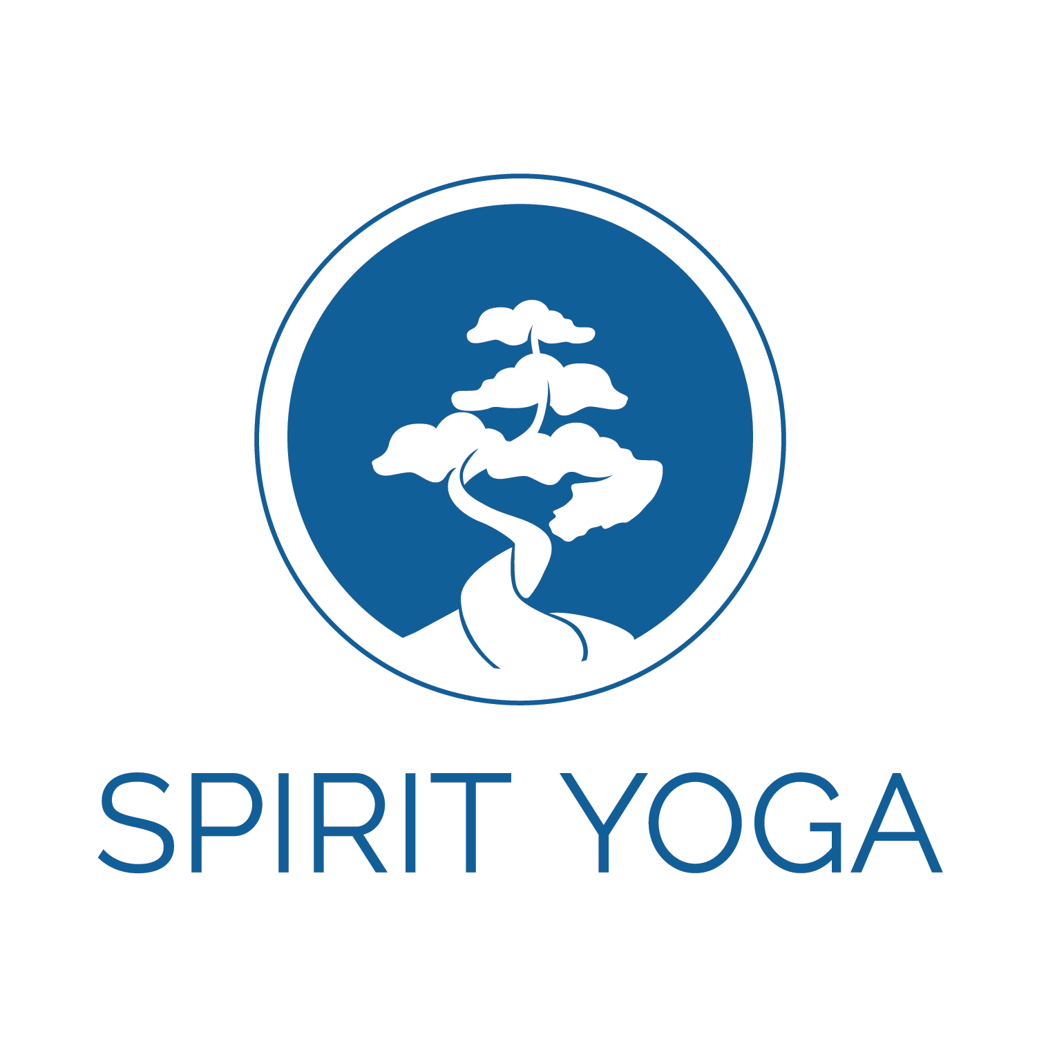 Spirit Yoga Logo Design + Rebrand - Spirit Yoga is a thriving yoga studio based in San Diego with a focus in community for all types of individuals regardless of flexibility, age, gender or shape. The studio wanted to embody their comfortable space to practice and connect with others.