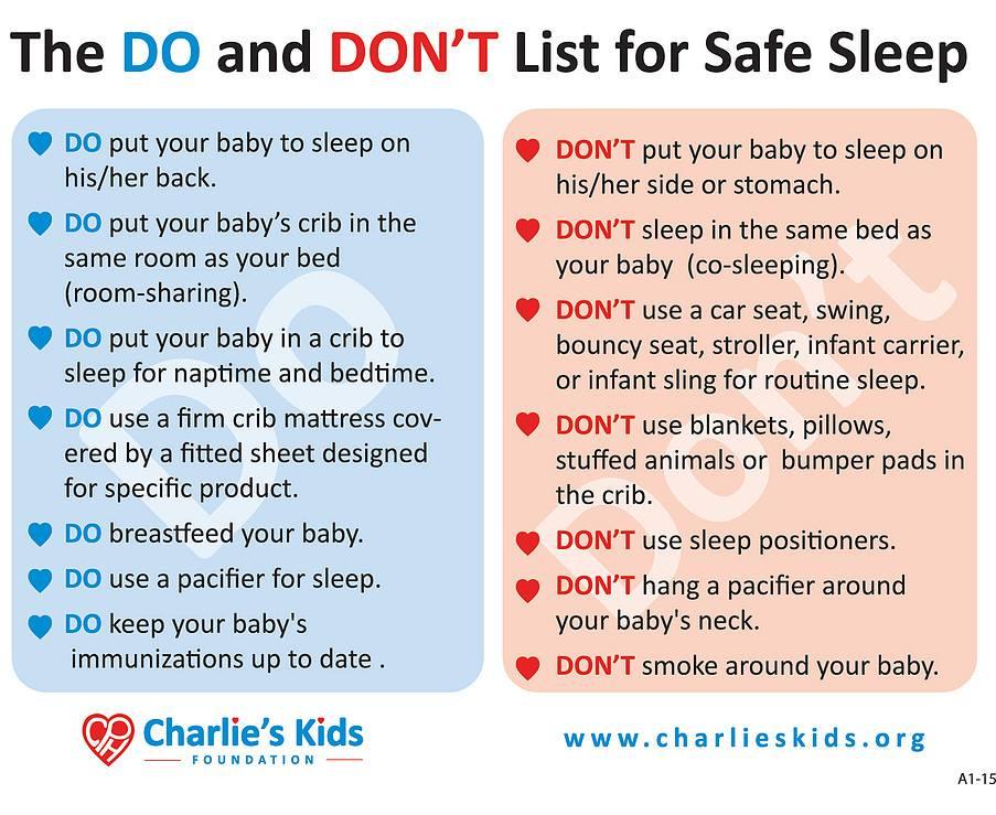 Healthy Little Sleepers - Safe Sleep