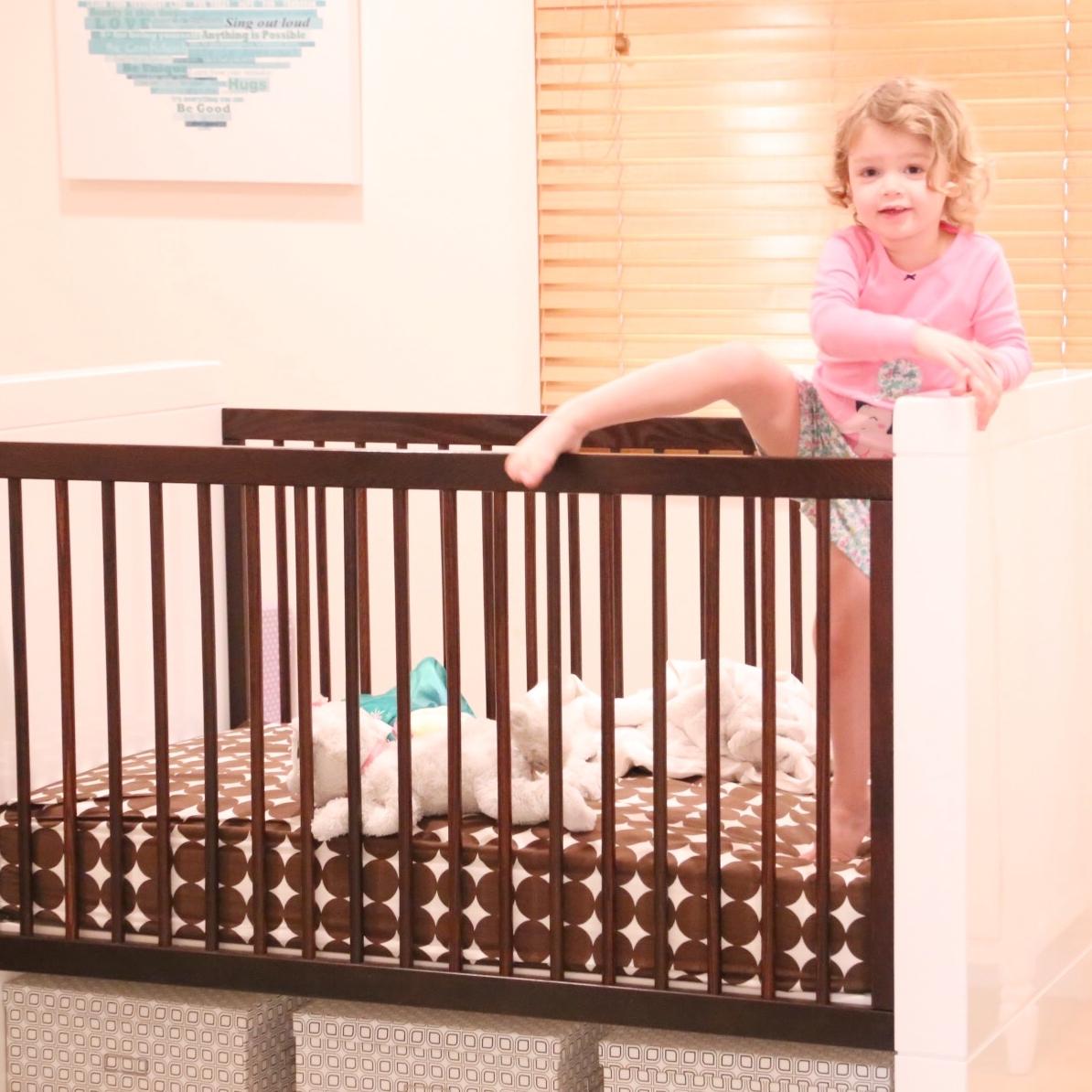 healthy little sleepers - crib climbing