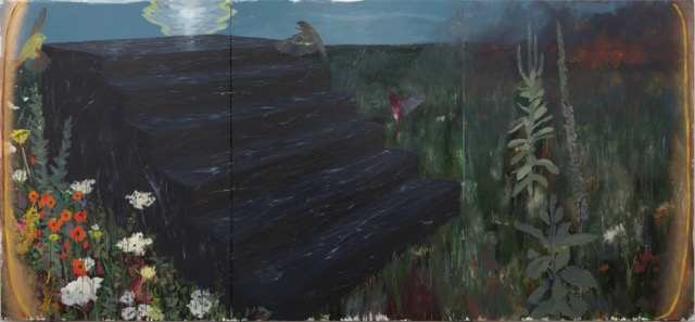 Enrique Martinez Celaya, The Folktale, 2017   oil   and wax on canvas ©Enrique Martinez Celaya. Courtesy of the artist and Jack Shainman Gallery, New York.