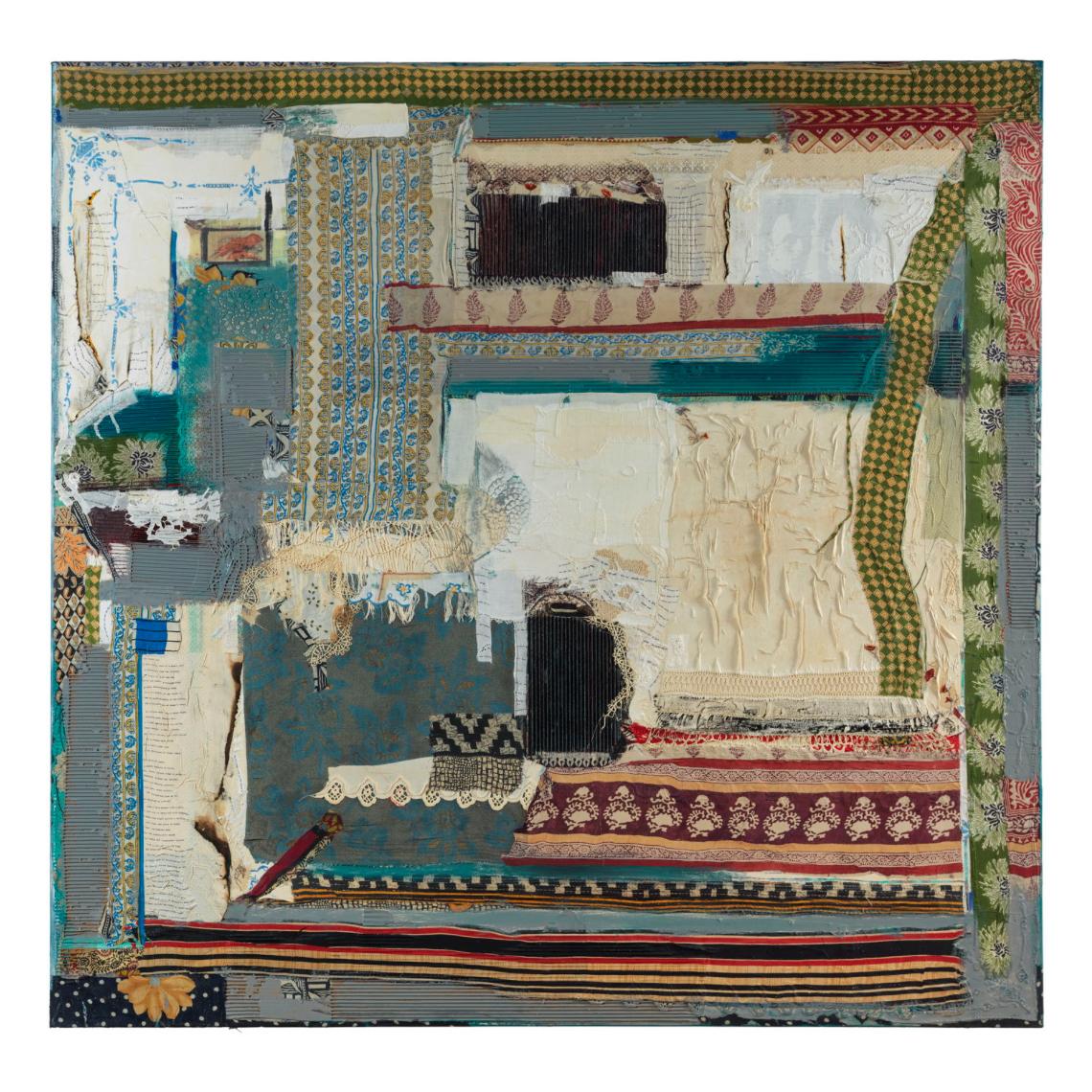 Peter Sacks, Township 5, 2014-2016 Mixed media © Peter Sacks, courtesy Marlborough Gallery, New York