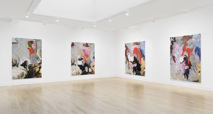 Urs Fischer: Sōtatsu, installation view at Gagosian Madison Avenue, New York. Artworks © Urs Fischer. Photo by Rob McKeever