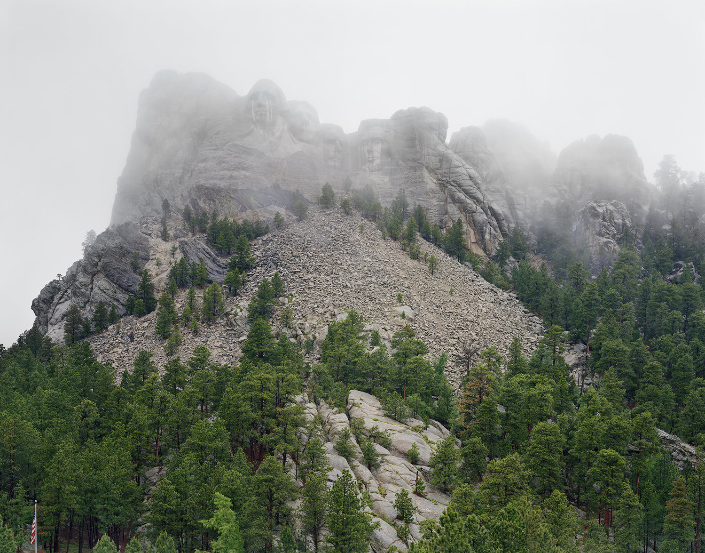 Mount Rushmore National Memorial / Six Grandfathers, South Dakota 2018, 2018 Chromogenic print