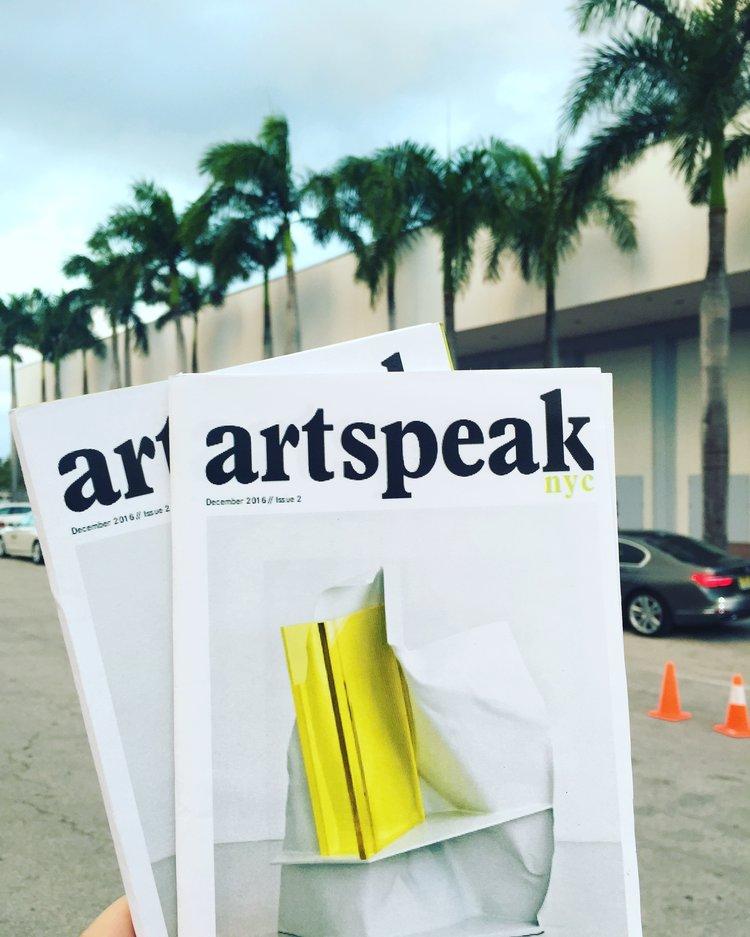 artspeak nyc new york miami art basel