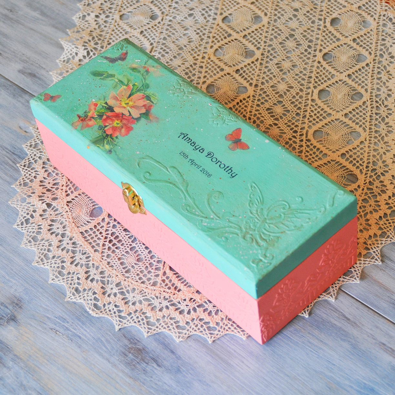 personalized-baby-girl-gift-newborn-keepsake-box-butterflies-fairytale