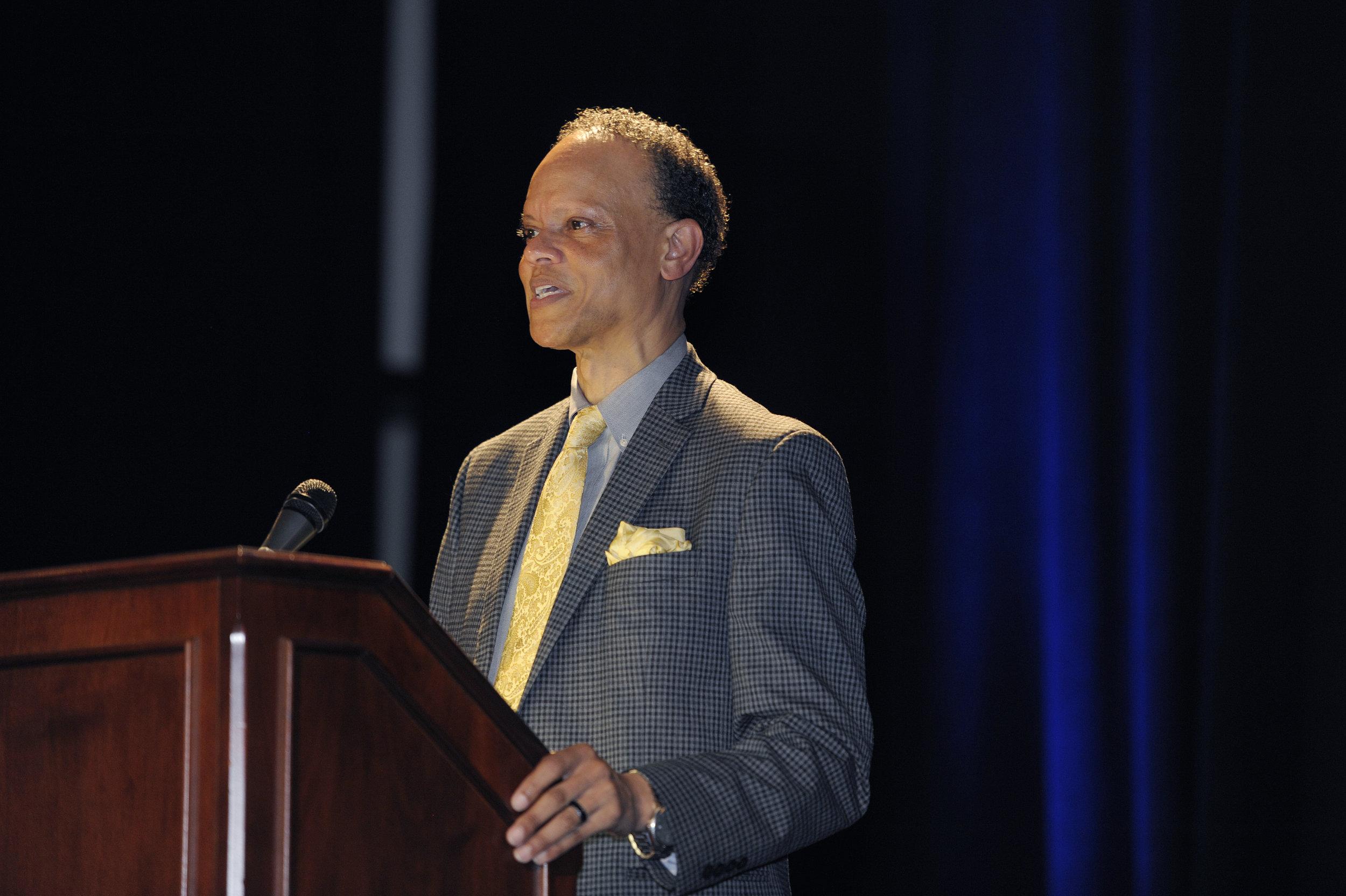 Hannibal B. Johnson, conference keynote speaker