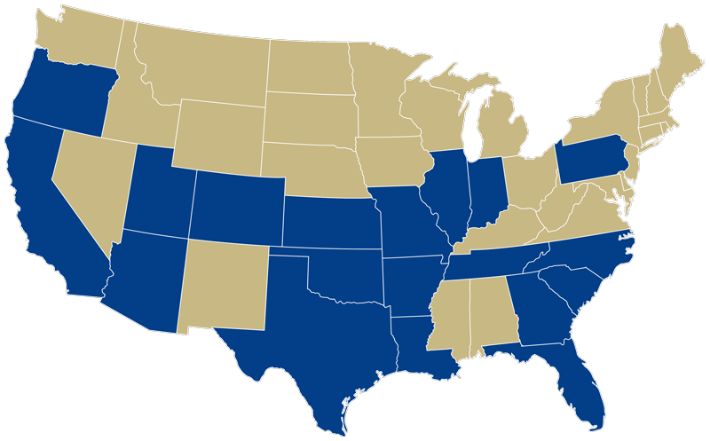 Externship placements in 19 states and 2 international (Ireland and The Netherlands), summer 2010 through fall 2016