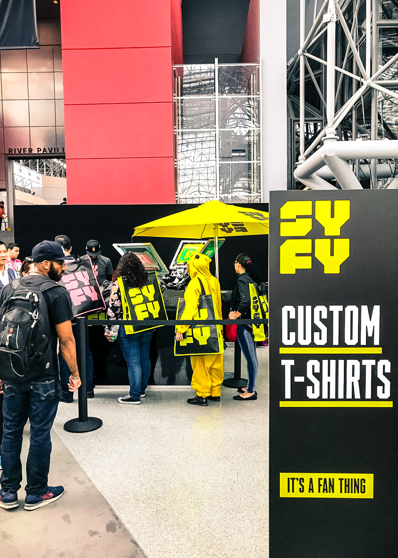 SYFY LIVE SCREEN PRINTING - Cosplay, Costumes, & Custom Printing!