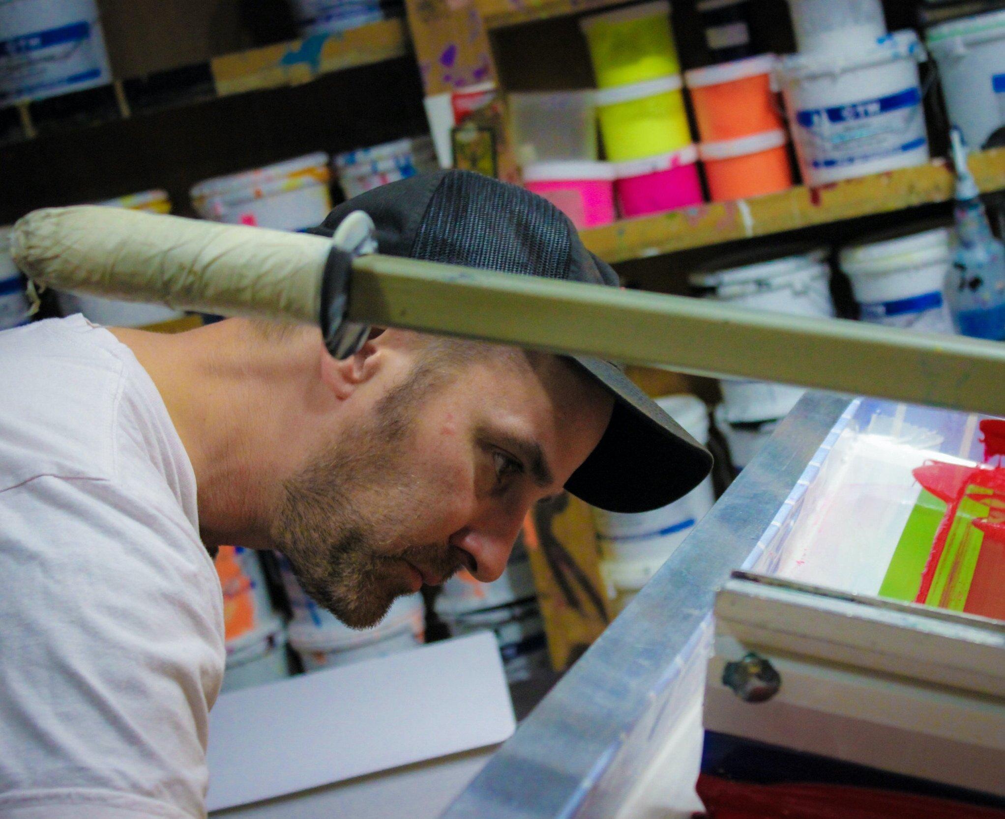 Joe Herbick - Head of Print Making