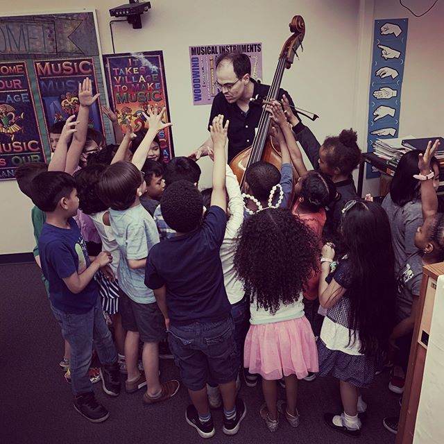 Music JuiceBox Series gets kids up-close to some of the most outstanding musicians out there, like Carnegie Hall's @decodamusic. Kids and teachers have been super excited about the school visits this week!