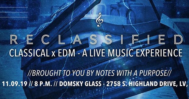 Reclassified is an event you really don't want to miss!!! ⚡️⚡️ We're fusing classical music with EDM inside a hot glass factory in two weeks (11/9). More at reclassified.eventbrite.com (or click on link in profile).