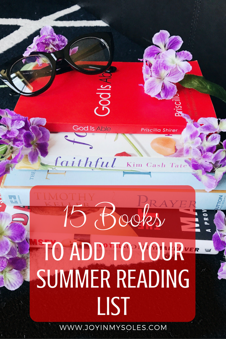 15 books to add to your summer reading list