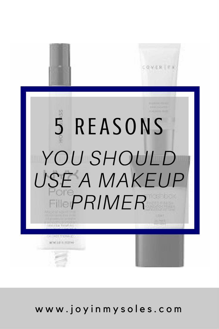 5 reasons you should use a makeup primer