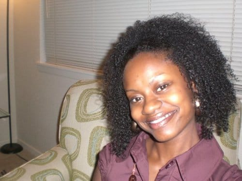 Taken in 2007 when I had no clue of what to do with my natural hair.  I would do wash and go's using Eco Styler gel and Blue Magic hair grease.  My hair was hard, crunchy, and stiff.