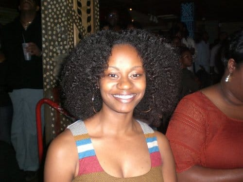 Rocking a braid out in 2008.  Around 2007/2008, I learned how to do twist outs and braid outs.  I also found online communities of natural hair women, such as Long Hair Don't Care Forum and Fotki.  I learned how to care for my hair, new styling options, and new hair products.
